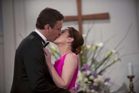 <p>Marshall (Jason Segel) e Lily (Alyson Hannigan) t&ecirc;m tr&ecirc;s filhos no total</p>