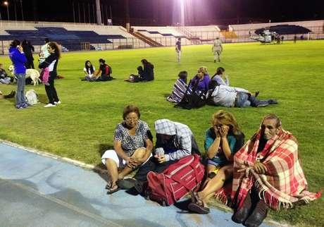 Terremoto atinge costa do Chile