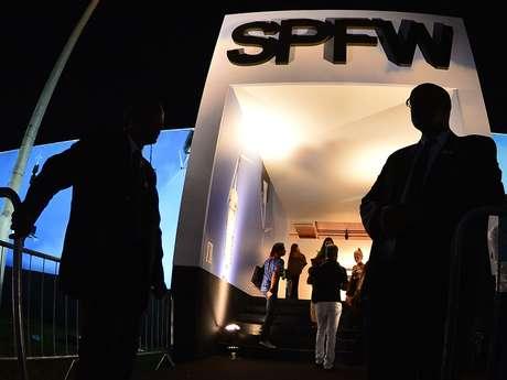 Presença de Gisele e Tom Brady aumentou segurança do SPFW
