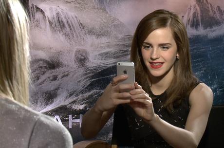 """""""Você respondeu o questionário né? Então posso tirar uma foto sua?"""", pediu Emma Watson para um trabalho da faculdade"""