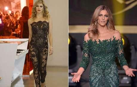 <p>Fernanda Lima, que apresentou acerimônia da Bola de Ouro com vestido verde doSamuel Cirnansck, desfilou nesta semana para o estilista no SPFW</p>