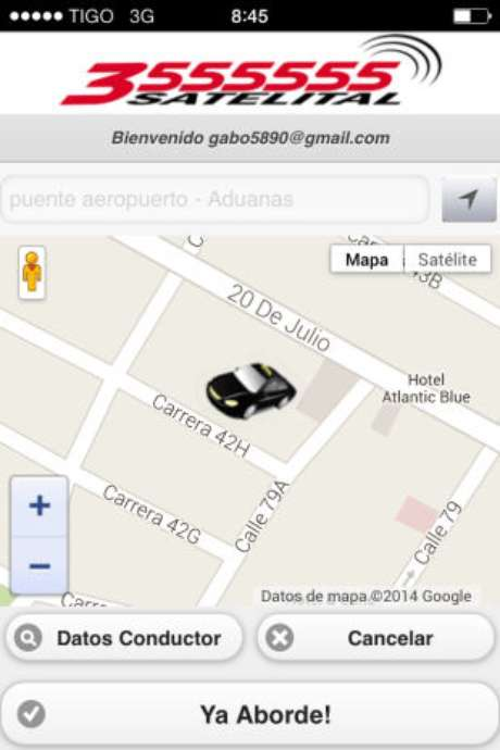 Taxi Satelital