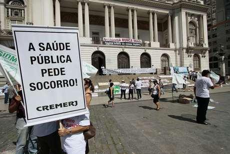 <p>Saúde nunca deixou de aparecer nas discussões em campanhas eleitorais</p>