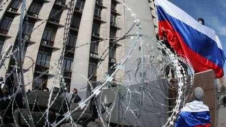 O movimento pela independência de Donetsk provavelmente não acabará da mesma forma que na Crimeia