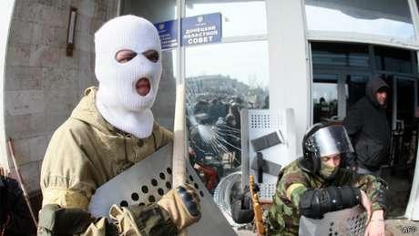Manifestantes dizem que, se suas demandas não foram atendidas, eles recorrerão à Rússia