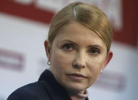 """<p>A ex-chefe do governo ucranianofalouaos jornalistasque osfocos de desestabilização na Ucrânia são """"artificiais"""" e não refletem o sentimento dos moradores da região de Donetsk</p>"""