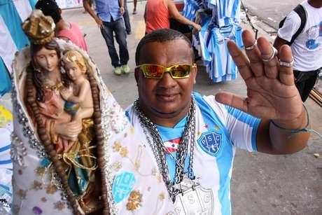<p>José Roberto Souza e Silva é uma cara conhecida na arquibancada</p>