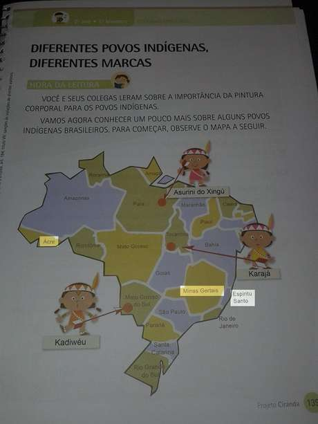 """Livro mostra Estados do """"Ácre"""", """"Espíritu Santo"""" e """"Minas Gertais"""""""