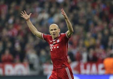 <p>Arjen Robben demonstrou preocupação com as recentes atuações do Bayern de Munique</p>