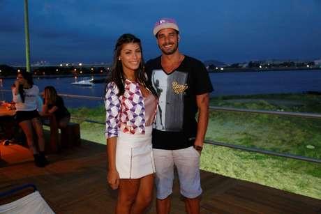 Casal Fran e Diego, formado no BBB 14, volta ao Fashion Rio nesta quinta-feira