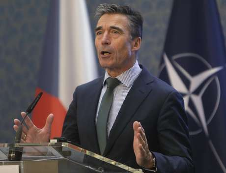 <p>A Rússia acusa osecretário-geral da Otan, Anders Fogh Rasmussen (foto), de promover a desestabilização na Ucrânia</p>