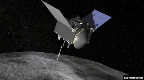 <p>A nave especialOSIRIS-REx será programada para pousar em um asteróide chamado Bennu</p>