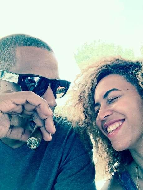 <p>Beyoncé e Jay-Z</p>