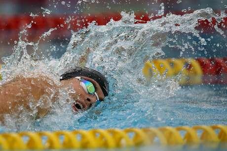 <p>Thiago Pereira foi ouro no200m medley</p>