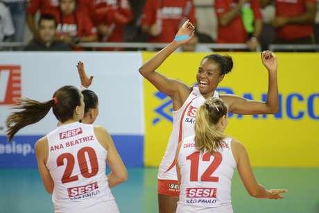 <p>Sesi-SPé o único time de grande porte da Superliga Feminina a não ter atletas estrangeiras em seu elenco</p>