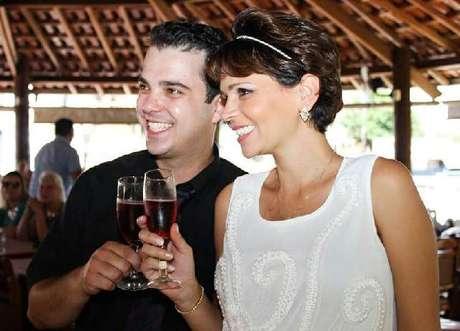 <p>O casal Felipe Padovani e Patr&iacute;cia Cabrera; mulher morreu aos 27 anos, v&iacute;tima de um c&acirc;ncer, ap&oacute;s&nbsp;dar &agrave; luz o filho</p>