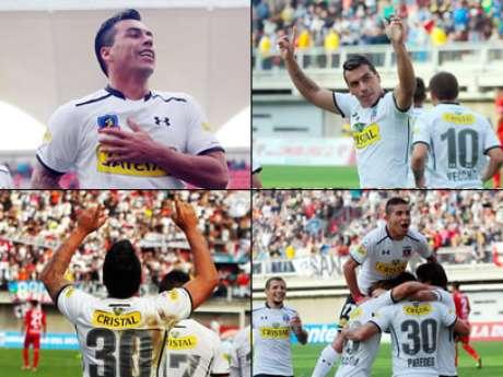 Colo colo sitio de la fifa destaca los cinco goles de for Esteban paredes fifa 18