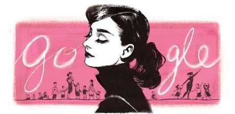 <p>Hepburn morreu em 1993 e era conhecida por papeis em filmes como My Fair Lady, Guerra e Paz, Sabrina e Bonequinha de Luxo</p>