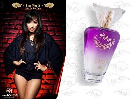 Anitta lança linha de perfumes, com opção para o dia e noite