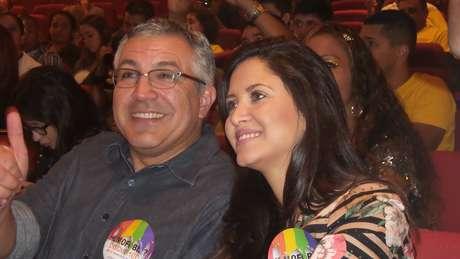 <p>O ex-ministro da Saúde Alexandre Padilha também participou do evento</p>