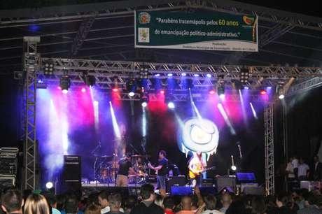 <p>A banda se apresentou na Praça da Matriz, no centro do município de Iracemápolis</p>