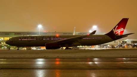 <p>O caso aconteceu durante um voo da companhia Virgin, que fazia o trajeto Londres-Las Vegas</p>