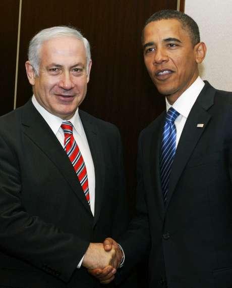 Na imagem, Benjamin Netanyahu de Israel, e Barack Obama, dos Estados Unidos, em encontro em Jerusalém (arquivo)