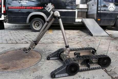 Robô é considerado a principal compra pela Polícia Civil