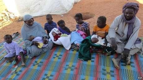 Família tem sobrevivido no acampamento, mas com perspectivas ruins para o futuro