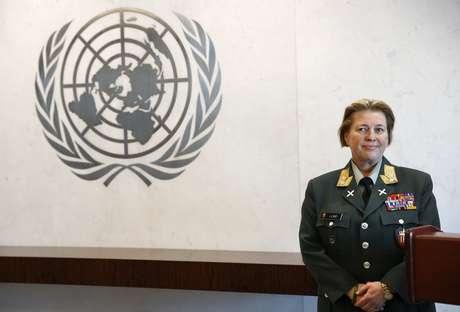 <p>Major General Kristin Lund, da Noruega, será a primeira mulher a comandar uma força de manutenção de paz da ONU</p><p></p>