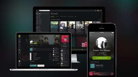 Ainda em fase de testes no Brasil, o Spotify convidou os usuários que se inscreveram no site para analisarem o serviço antes do lançamento