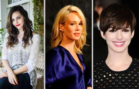 Estrelas da TV e do cinema como Tainá Muller, Mariana Ximenes e Anne Hathaway jamais deixam de lado os seus produtos de beleza favoritos