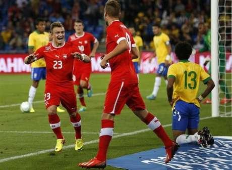 <p>Seleção suíça foi a última a derrotar a Seleção Brasileira, em amistoso realizado no ano passado</p>