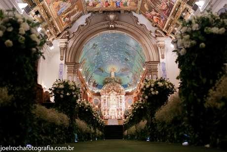 <p>Casamento deDébora Saraiva, 30 anos, e Rodrigo Saraiva, 35 anos, em 16/06/2012</p>