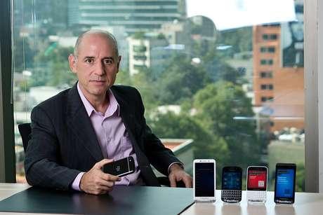 Jorge Aguiar, diretor da BlackBerry para a América Latina