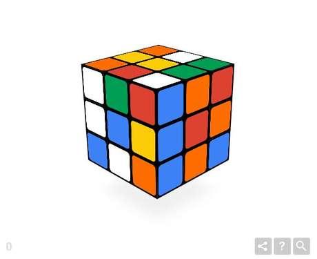 O doodle é animado e permite ao usuário mexer o brinquedo de forma virtual