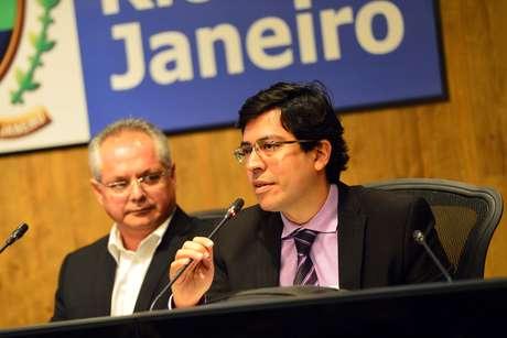 Delegado federal Anderson Bichara da Secretaria Extraordinária de Segurança para Grandes Eventos do Ministério da Justiça