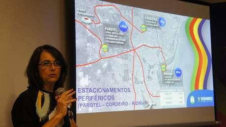 Secretária executiva das Cidades, Ana Suassuna, detalhou as diferentes opções para turistas e recifenses