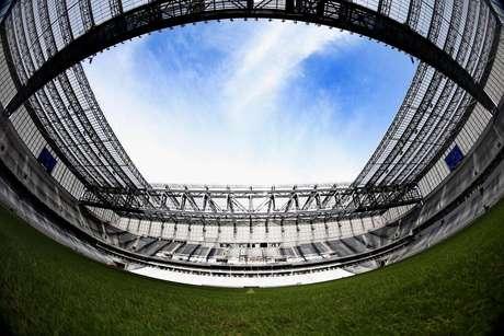 Arena da Baixada, mesmo após a Copa do Mundo, tem obras inacabadas