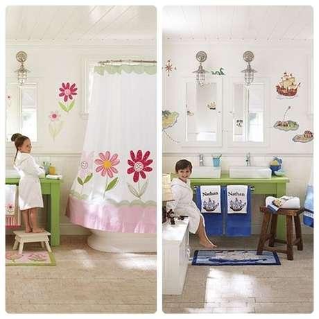Ideas de decoraci n para ba os infantiles for Lavamanos para ninos