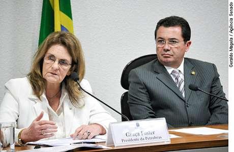 Graça Foster voltou ao Senado para explicar denúncias de irregularidades na Petrobras