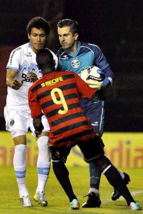 <p>Goleiro tem sido um dos destaques gremistas no Brasileiro</p>