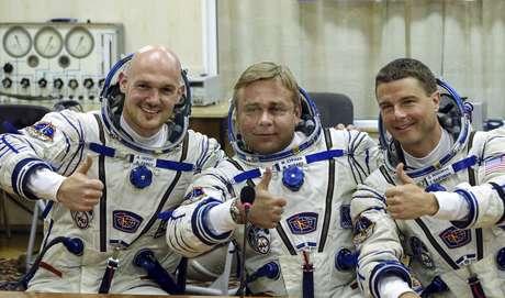 A nave Soyuz TMA-13M chegou à ISS às 21h44 (de Brasília) após decolar da base de Baikonur