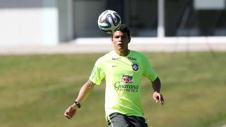 <p>Thiago Silva será poupado de viagem</p>
