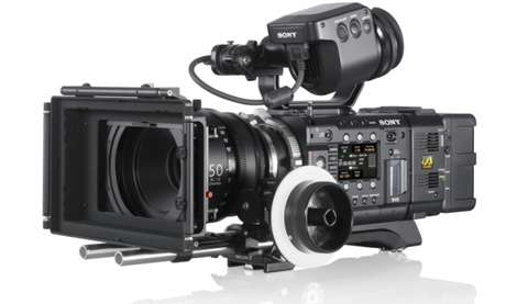 Cãmera de vídeo em 4K, Sony PW F55