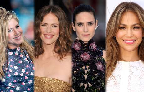 Jennifer Aniston, Jennifer Garner, Jennifer Connely e Jennifer Lopez já passaram dos 40, mas continuam lindas e com a pele jovem