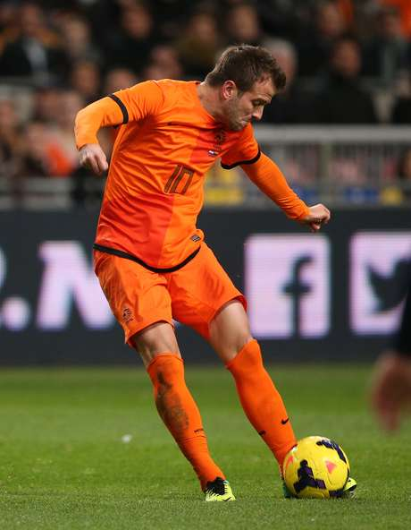 <p>Van der Vaart volta a ser convocado para a seleção</p>