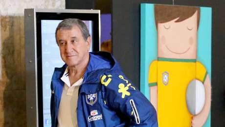 <p>Carlos Alberto Parreira acredita que Seleção jogará bem contra Colômbia</p>