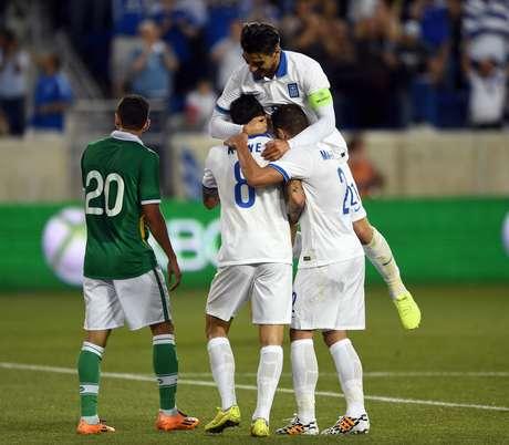 Grécia fez amistoso contra a Bolívia nos EUA
