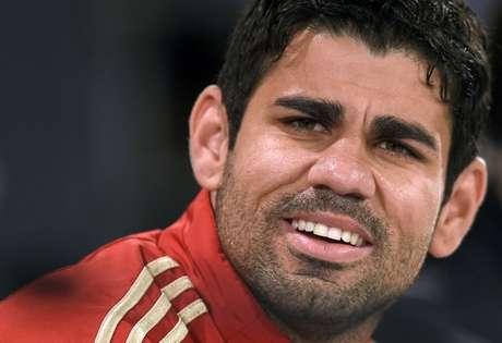 <p>Enturmado no grupo da Espanha, Diego Costa ainda n&atilde;o teve contato direto com o p&uacute;blico brasileiro</p>